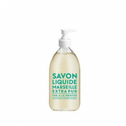 Skincare + Fragrance Compangnie de Provence Liquid Marseille Soap (500ml): Mint Tea - The Union Project