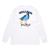 T-Shirts Reception Mogador L/S T-Shirt: White - The Union Project, Cheltenham, free delivery