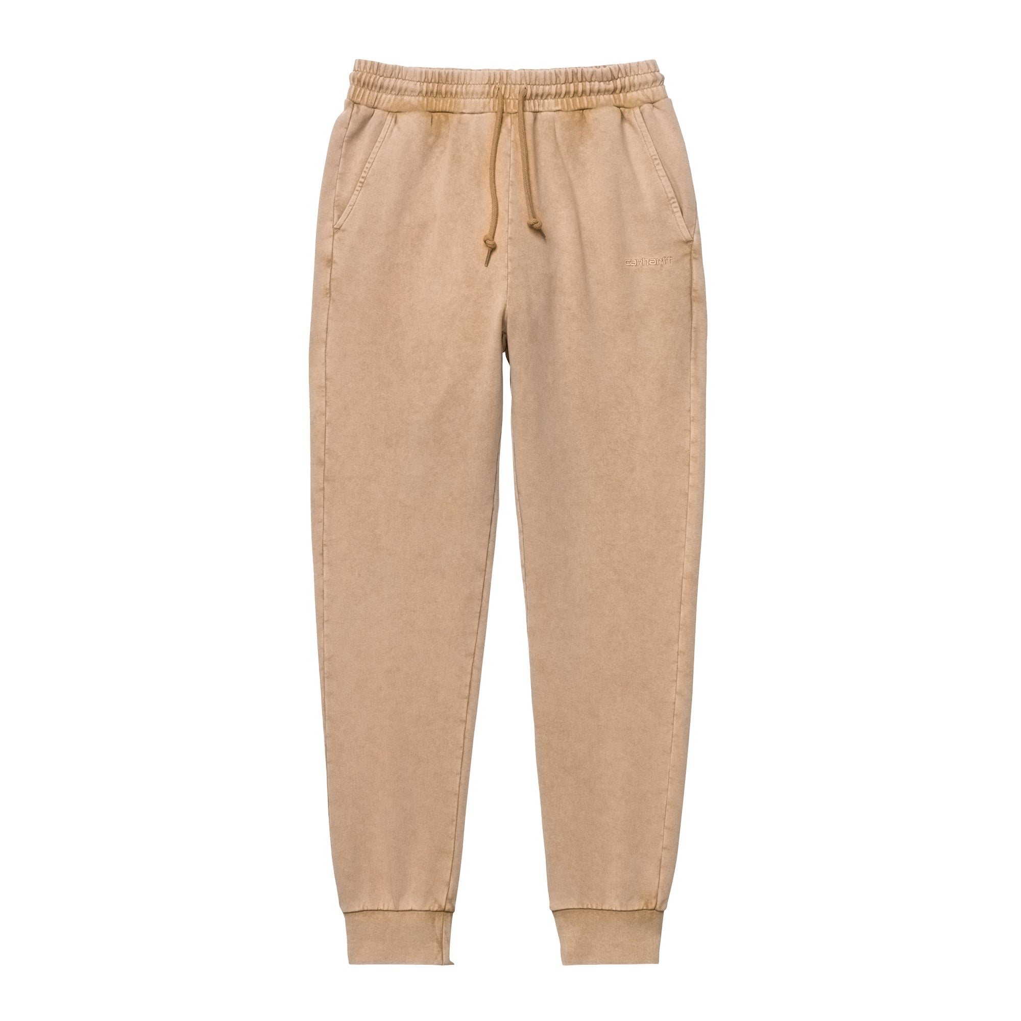 Carhartt WIP Womens Mosby Script Sweat Pant: Dusty Hamilton Brown - The Union Project