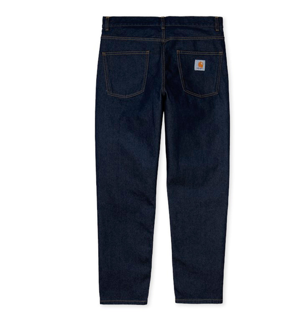 Carhartt WIP Newel Pant: Blue Rinsed - The Union Project
