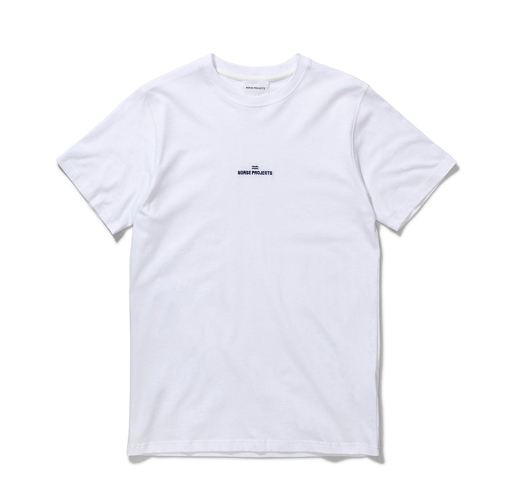 Norse Projects Niels Wave Logo: White - The Union Project