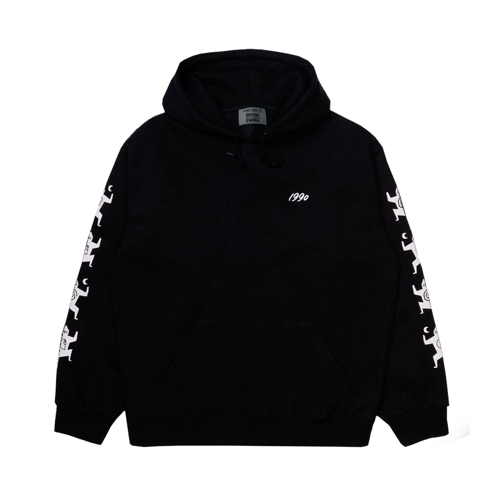 Hoodies Carhartt WIP x Relevant Parties Hooded Ninja Tune Sweat: Black / White - The Union Project, Cheltenham, free delivery