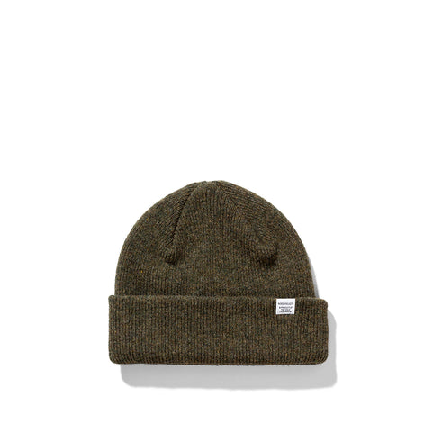 Norse Projects Beanie: Ivy Green