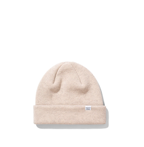 Norse Projects Beanie: Utility Khaki