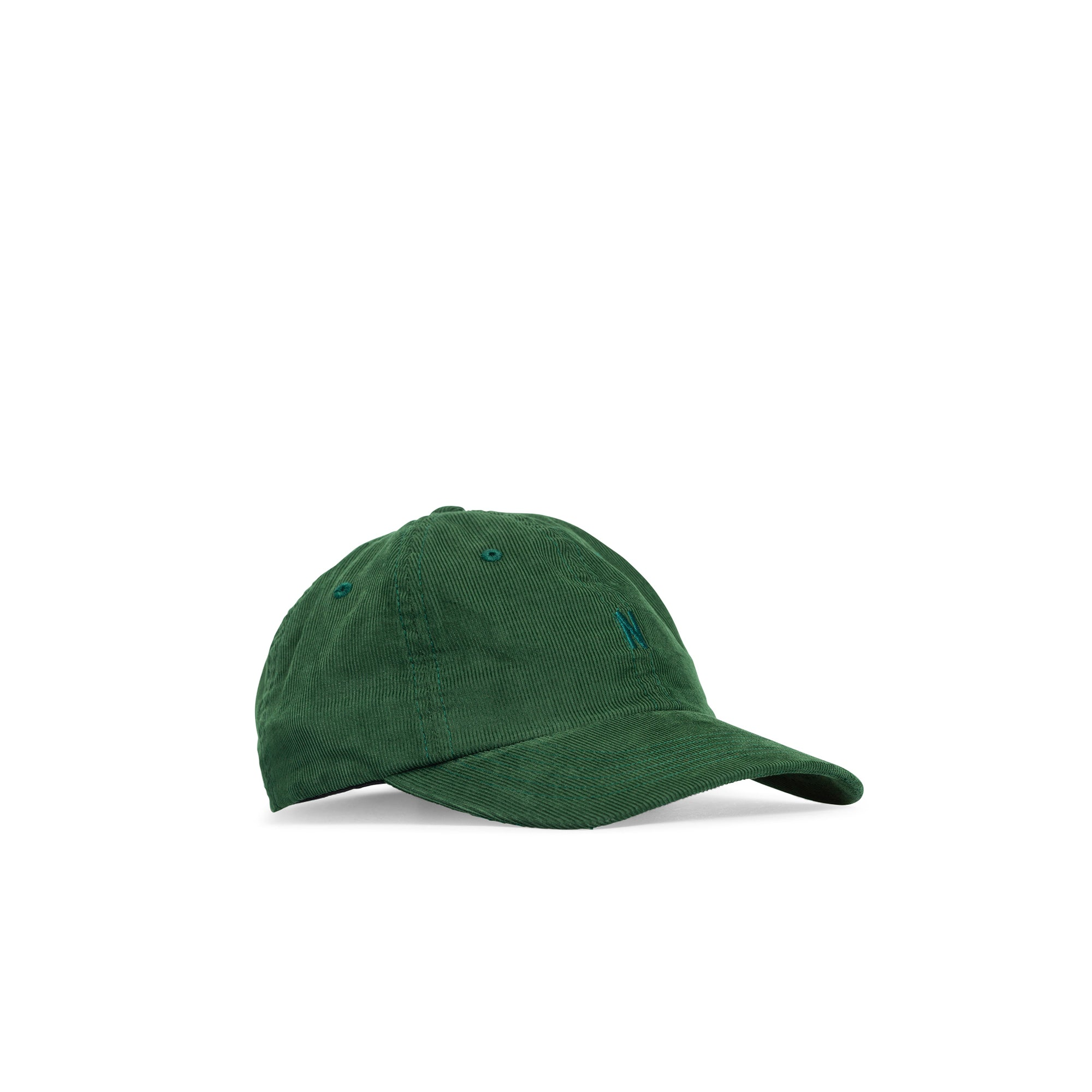 Norse Projects Baby Corduroy Sports Cap: Dartmouth Green - The Union Project