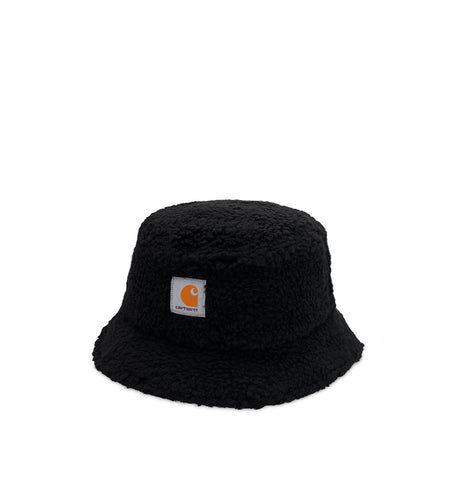 Headwear Carhartt WIP Northfield Bucket Hat: Black - The Union Project, Cheltenham, free delivery