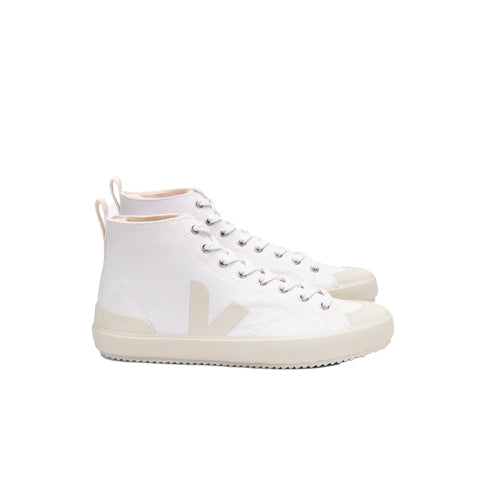 Veja Nova Hi-Top Canvas: White / Pierre - The Union Project