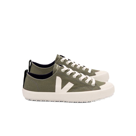 Footwear Veja Nova Canvas: Kaki / Pierre - The Union Project, Cheltenham, free delivery