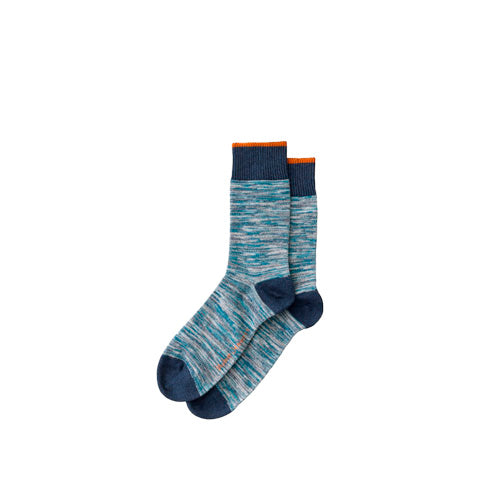 Socks Nudie Jeans Rasmusson Multi Yarn Socks: Blue - The Union Project, Cheltenham, free delivery