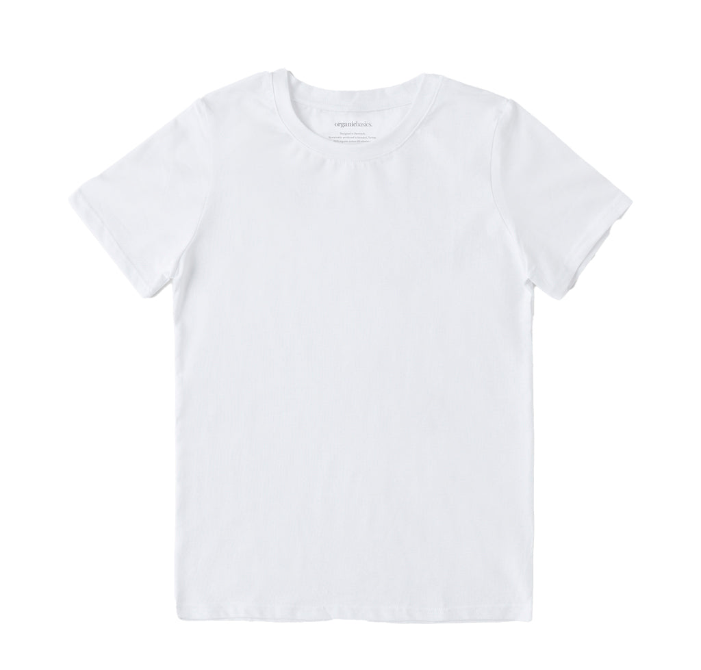 Organic Basics Tee: White - The Union Project