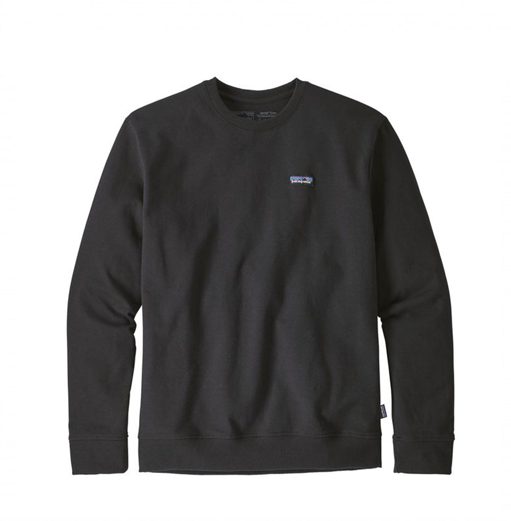 Patagonia P-6 Label Uprisal Sweatshirt: Black - The Union Project