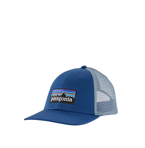 Patagoina P-6 Logo Trucker Hat: Superior Blue