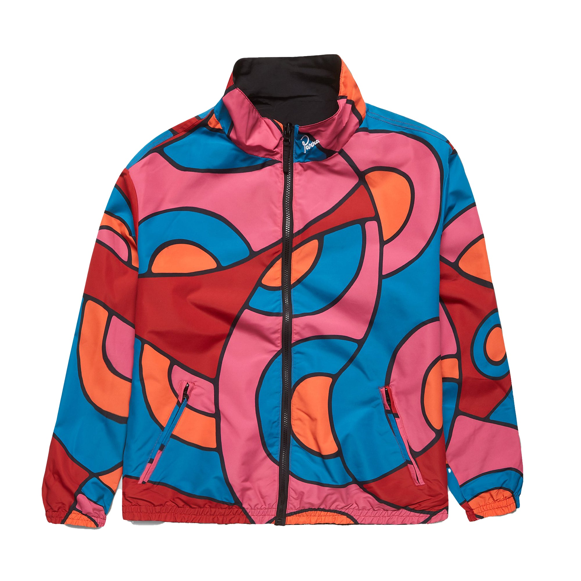 Parra Serpent Pattern Track Top: Multi - The Union Project