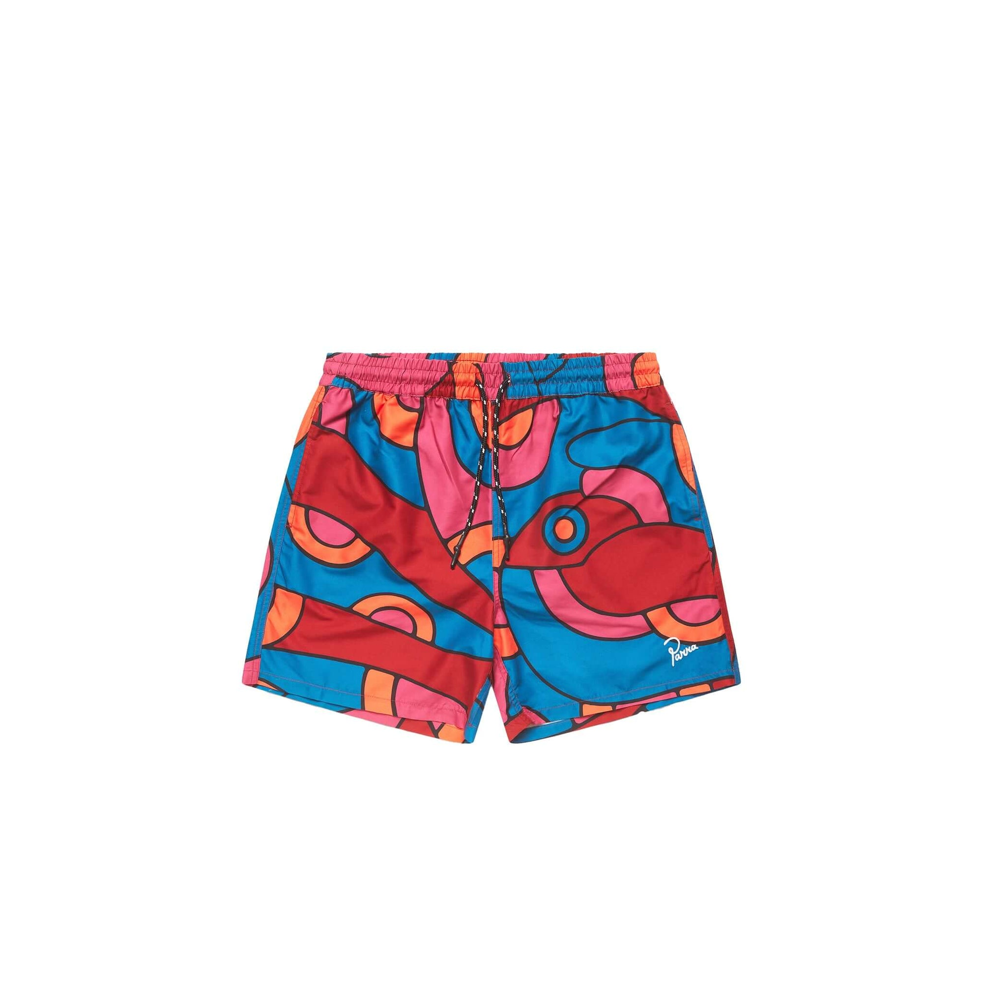Parra Serpent Pattern Swimshorts: Multicolor - The Union Project