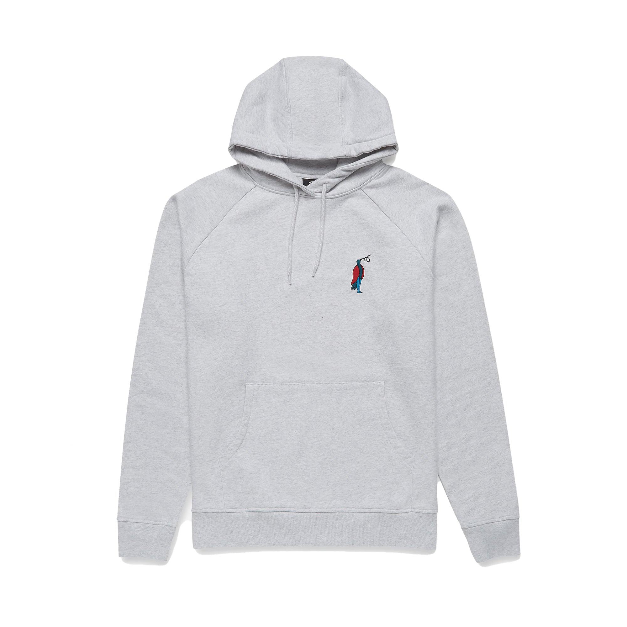 Parra Staring Hooded Sweatshirt: Ash Grey - The Union Project