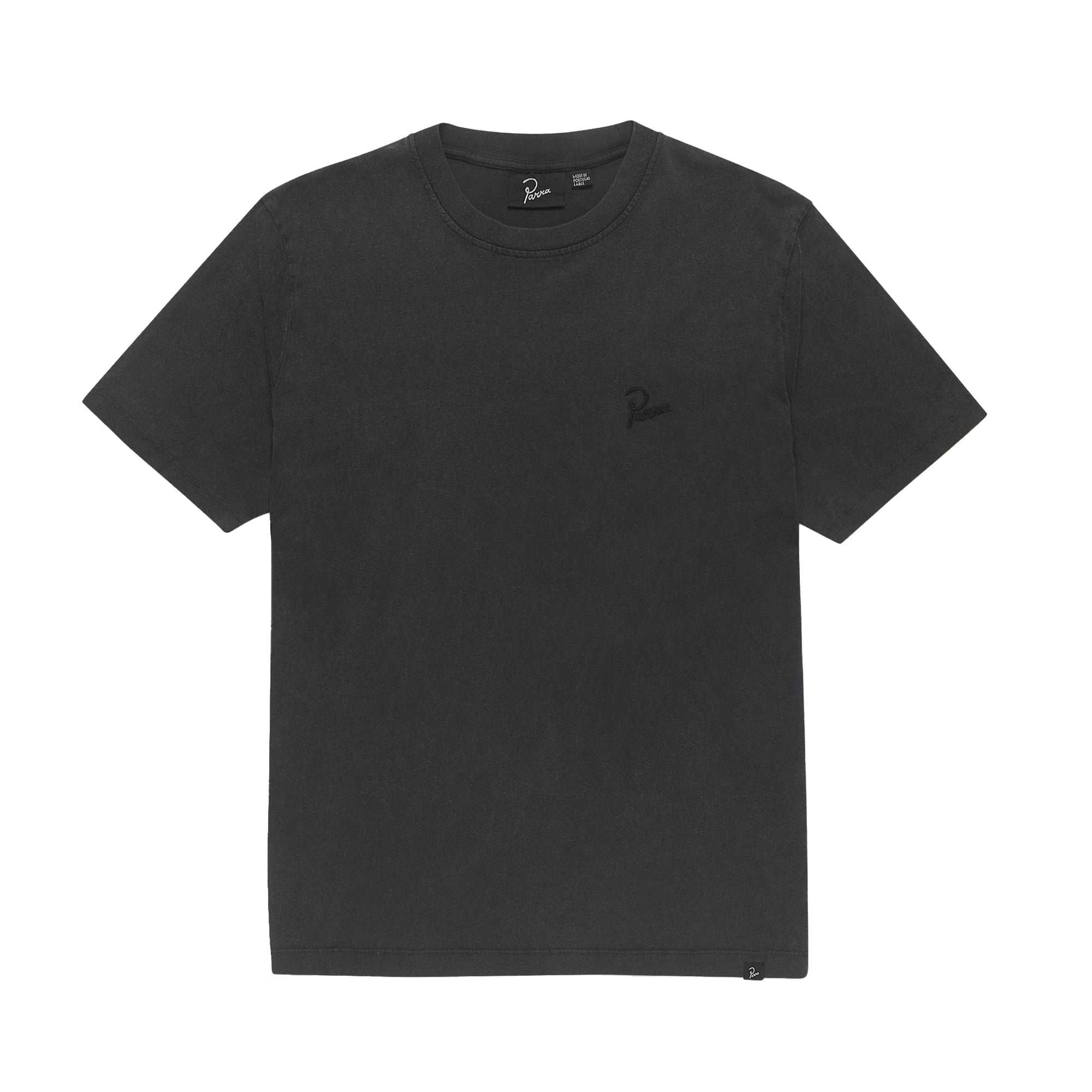 Parra Washed Out Logo T-Shirt: Washed Black - The Union Project