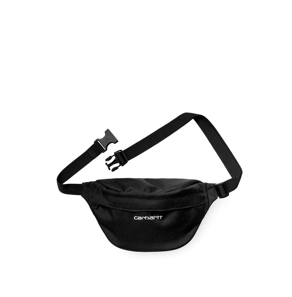 Cross Body Bags Carhartt WIP Payton Hip Bag: Black/White - The Union Project, Cheltenham, free delivery