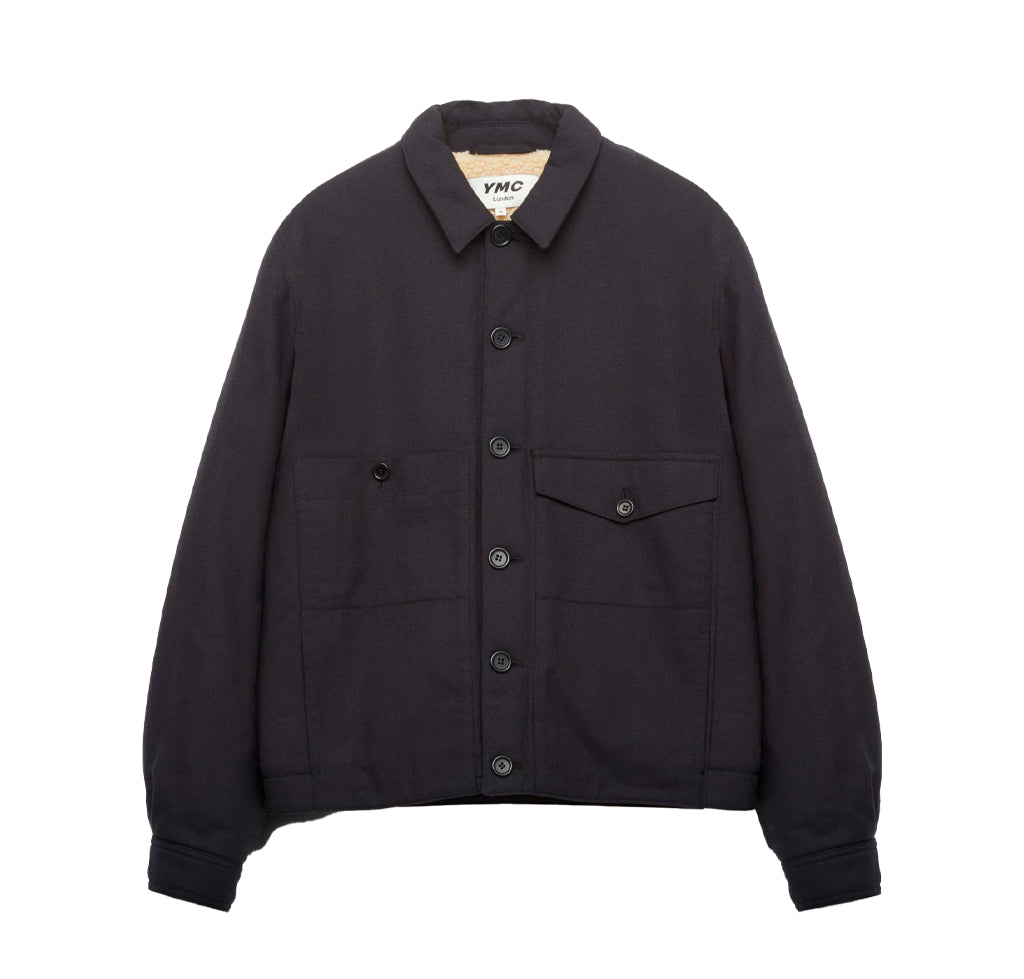 YMC Pinkley Jacket: Black - The Union Project