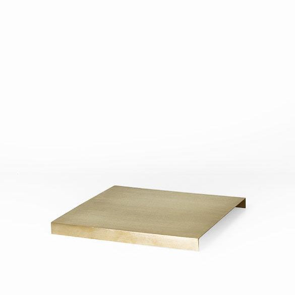 Ferm Living Tray For Plant Box: Brass - The Union Project