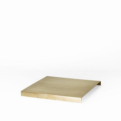 Tray For Plant Box: Brass