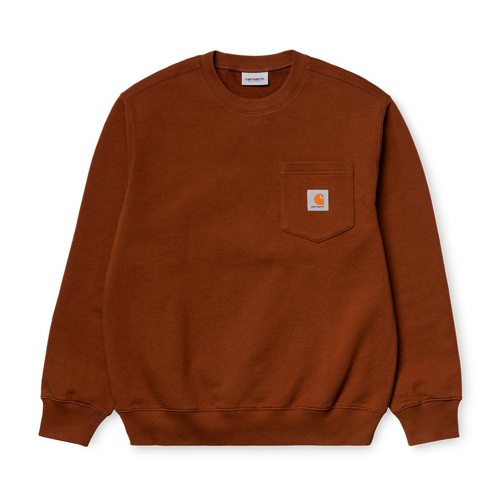 Carhartt WIP Pocket Sweat: Brandy - The Union Project