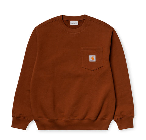 Carhartt WIP Pocket Sweat: Brandy