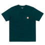 Carhartt WIP Pocket T-Shirt: Deep Lagoon