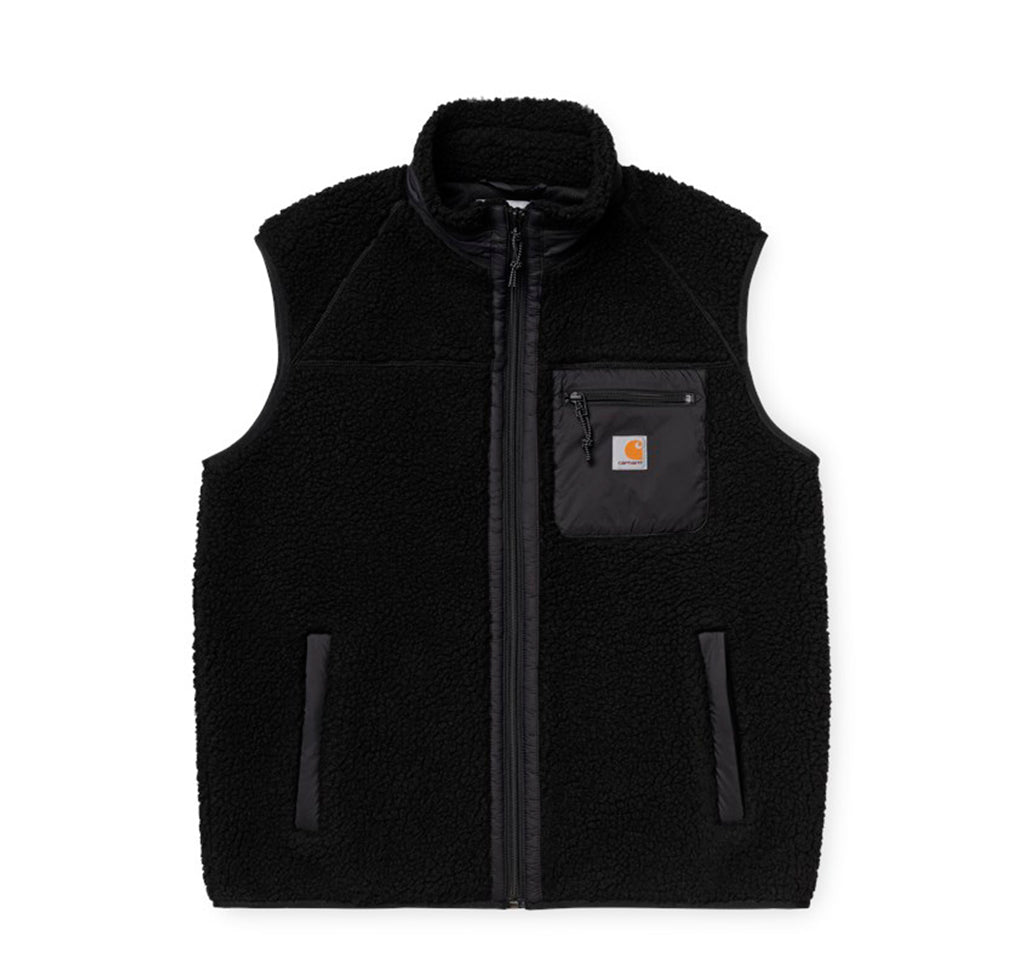 Hoods & Sweats Carhartt WIP Prentis Vest Liner: Black - The Union Project, Cheltenham, free delivery