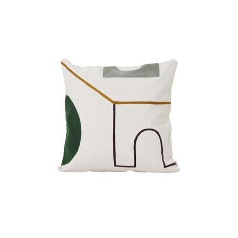 Ferm Living Mirage Cushion: Gate - The Union Project