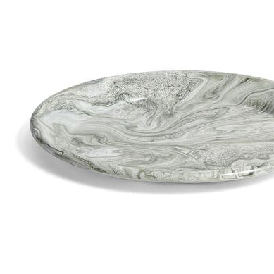 HAY Soft Ice/Dinner Plate: Green