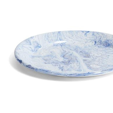 Plates + Bowls HAY Soft Ice/Dinner Plate: Blue - The Union Project, Cheltenham, free delivery