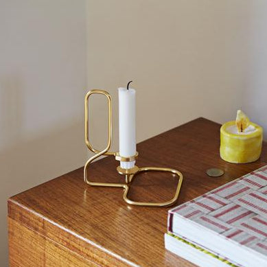 Lup Square/Triangle Table: Brass