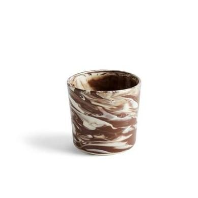 Mugs + Tumblers Hay Marbled Cup: Brown - The Union Project, Cheltenham, free delivery