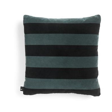 HAY Soft Stripe Cushion: Hunter