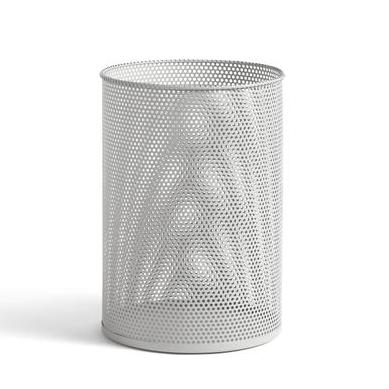Hay Perforated Bin L: Light Grey