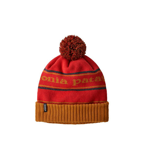 Headwear Patagonia Powder Town Beanie: Park Stripe: Hammonds Gold - The Union Project, Cheltenham, free delivery