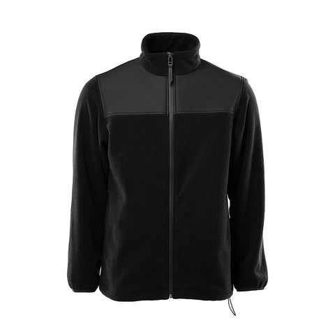 Outerwear Rains Fleece Zip Puller: Black - The Union Project, Cheltenham, free delivery