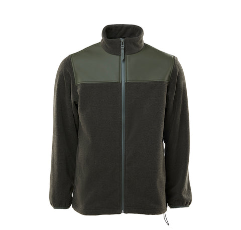 Outerwear Rains Fleece Zip Puller: Green - The Union Project, Cheltenham, free delivery