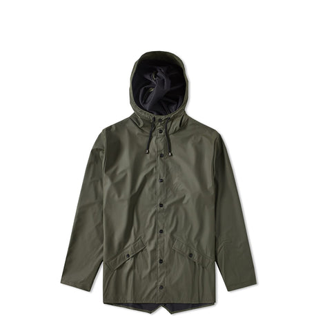 Rains Jacket: Green