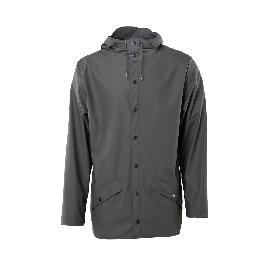 Rains Jacket: Charcoal - The Union Project
