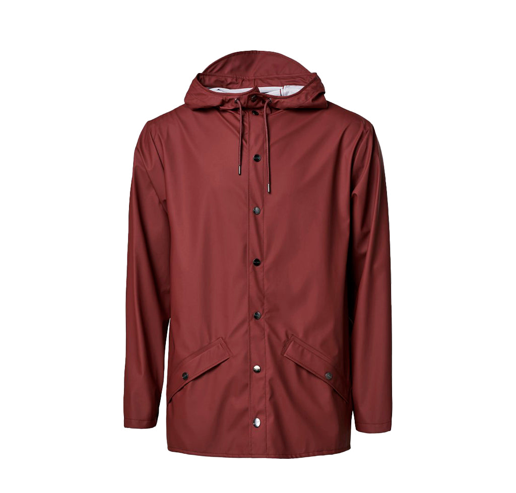 Outerwear Rains Jacket: Maroon - The Union Project, Cheltenham, free delivery