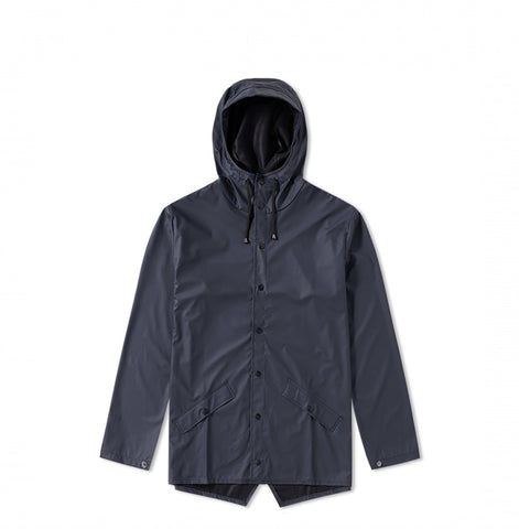 Rains Jacket: Blue