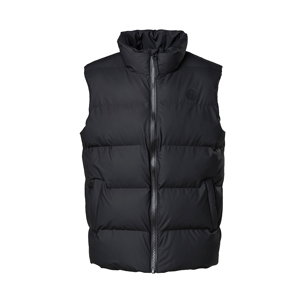 Outerwear Rains Puffer Vest: Black - The Union Project, Cheltenham, free delivery