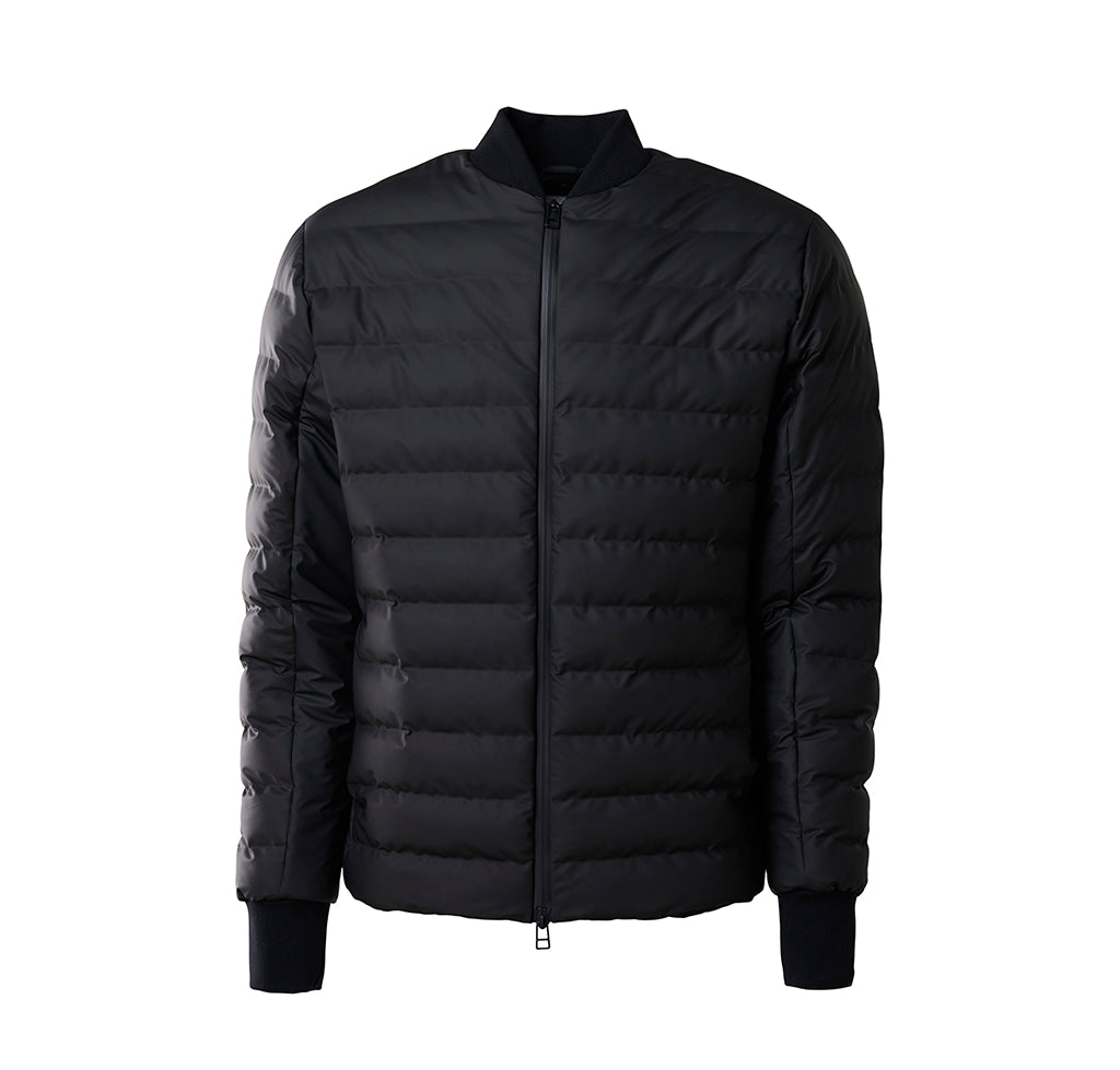 Rains Trekker Jacket: Black - The Union Project