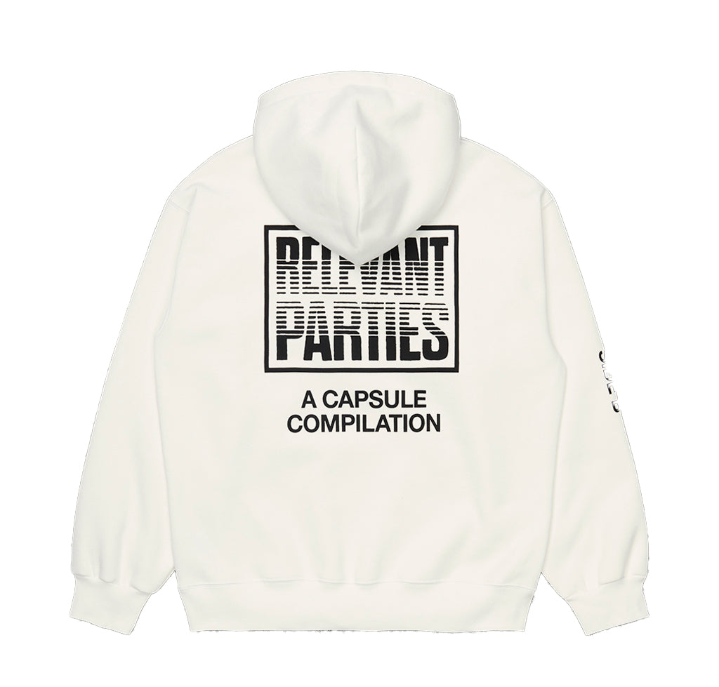 Hoodies Carhartt WIP x Relevant Parties Hood Vol 1 Sweat: Sand - The Union Project, Cheltenham, free delivery