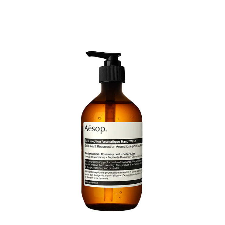 Bath + Body Aesop Resurrection Aromatique Hand Wash 500ML - The Union Project, Cheltenham, free delivery