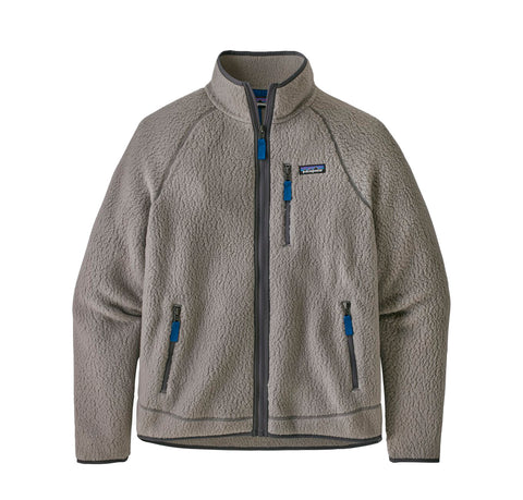 Hoods & Sweats Patagonia Retro Pile Jacket: Feather Grey - The Union Project, Cheltenham, free delivery