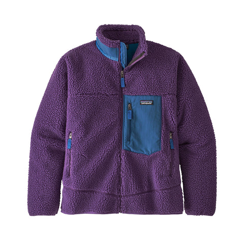 Hoods & Sweats Patagonia Classic Retro-X Jacket: Purple - The Union Project, Cheltenham, free delivery