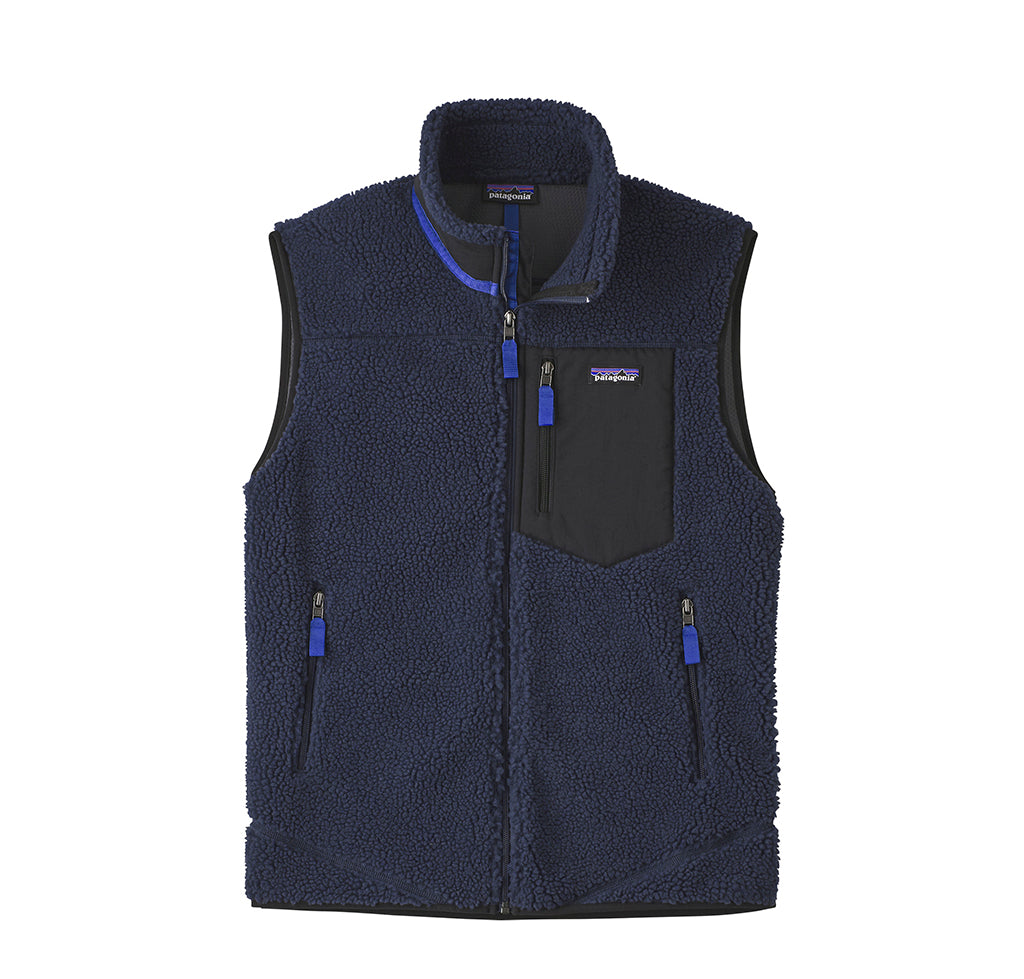 Patagonia Classic Retro-X Vest: New Navy - The Union Project