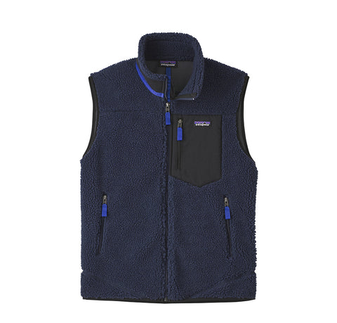 Hoods & Sweats Patagonia Classic Retro-X Vest: New Navy - The Union Project, Cheltenham, free delivery